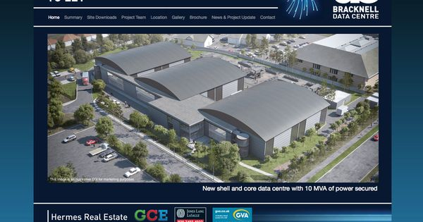 Bracknell Data Centres 3tc websites Pinterest Centre
