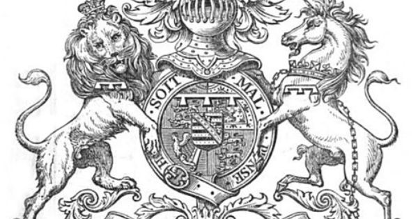 Coat Of Arms Of Alfred Prince Of Wales Later King Edward Vii Pinterest King Edward Vii