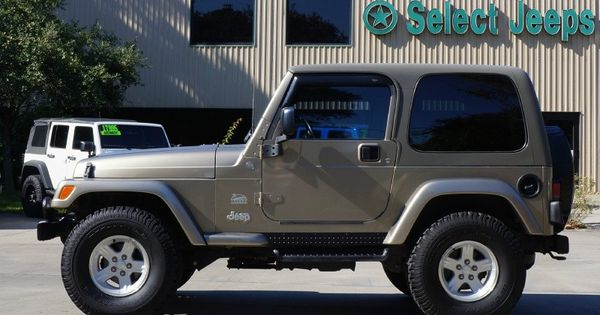 2004 khaki jeep wrangler sahara last year for the sahara tj model automatic and hard top 95k. Black Bedroom Furniture Sets. Home Design Ideas