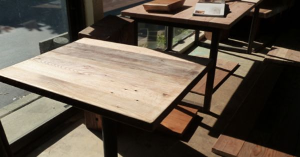 Reclaimed Wood Table Tops Dining Tables Restaurant Furniture CA Recla