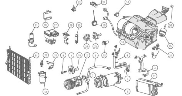 mercedes w108 engine parts diagram mercedes s55 engine accessories diagram #9