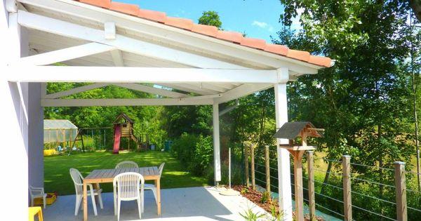 Construire Terrasse Couverte Maison Projet Terrasse Pinterest Pergolas Patios And House