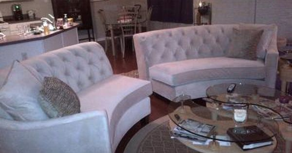 Riemann Curved Tufted Sectional Sofas And Loveseats Living Room Furniture Curved Sofa Living Room Living Room Remodel Loveseat Living Room