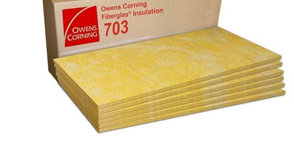 Owens Corning 703 Acoustic Panels Diy Acoustic Panels Acoustic Insulation