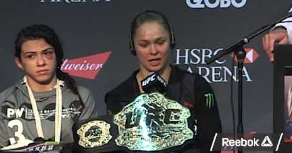 At A Ceremony Brion Is Being Honored At Somebody Questions Her On Who Her Next Opponent Will Be Somebody Mentions The Ufc Ufc Women Hard Work And Dedication