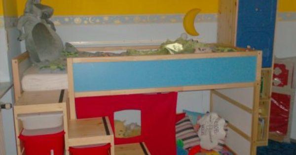 hochbett mit trofast als treppe ideen f rs kinderzimmer pinterest hochbetten treppe und. Black Bedroom Furniture Sets. Home Design Ideas