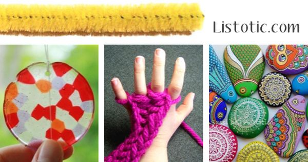 29 Fun and Creative Crafts for Kids