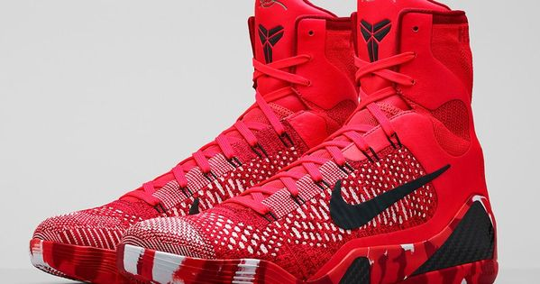 Official images of the Nike Kobe 9 Elite Knit Stocking is showcased,