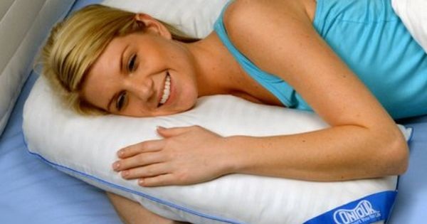 All Night Comfort And Support The L Pillow S Unique Shape