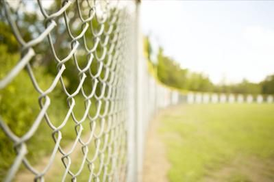 How To Paint Refinish Chain Link Fences Chain Link Fence Painted Chain Link Fence Chain Fence