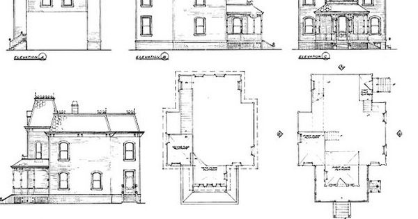 bates motel house floor plan