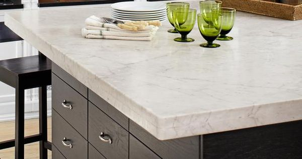 Marble Countertop Here's a clever idea that customizes a space: The IKEA