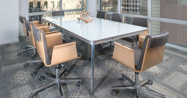 Eleven Conference Table With Madrid Swivel By OFS