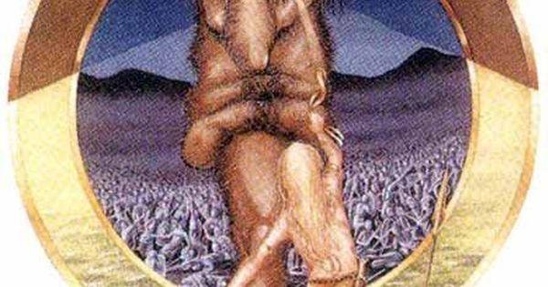 """Combat of Balor and Lugh Lamfada"" by Miranda Gray (1995 ...  Balor Myth"