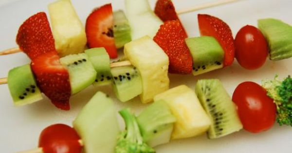Cool project from www.kiwicrate.com/diy: Fruit and Vegetable Kabobs ...