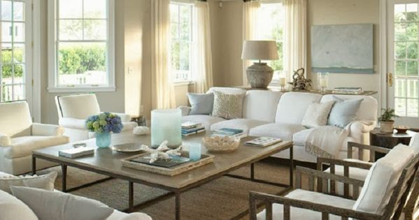 Chic Coastal Living Hamptons Style Design Beach Houses
