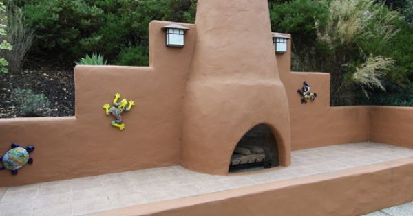 Patio southwestern style Design Ideas, Pictures, Remodel and Decor