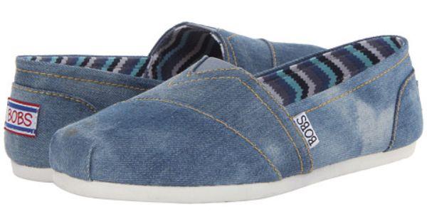 Skechers bobs, Skechers, Blue jeans
