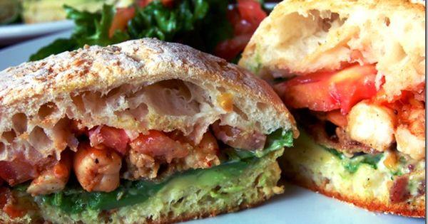 Tomato sandwich, Sandwiches and Shrimp on Pinterest