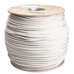 1 2 Inch X 1000 Ft Solid Braid Cotton Sash Cord Sash Cord Rope Basket Cord