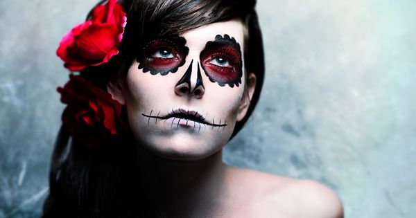 dia de los muertos~ I have found my halloween costume idea!