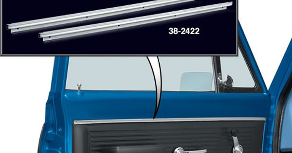 Chrome Door Panel Trim Set Gmc Trucks Chevy Trucks