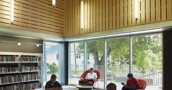 Rosa F Keller Library Amp Community Center Eskew Dumez