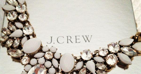 My next JCrew necklace.