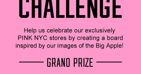 #VSPINK NYCLove Pinterest Challenge