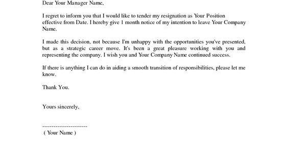 Resignation Letter Sample Job Template Samples Incorporator Form
