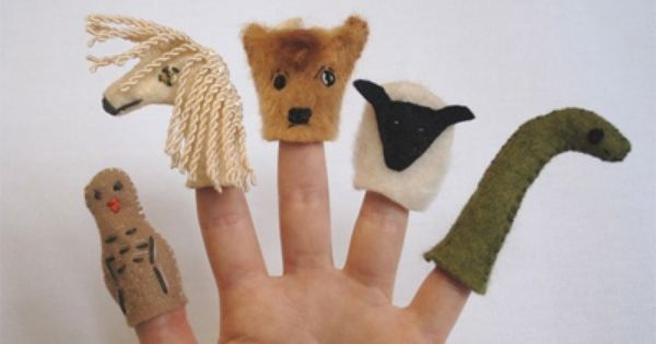 DIY Sock puppets