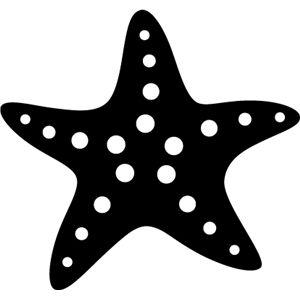 Silhouette Design Store Silhouette Design Starfish Silhouette