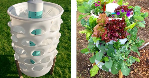 Garden Tower Composting 50 Plants Real Food Anywhere By Garden Tower Project Kickstarter