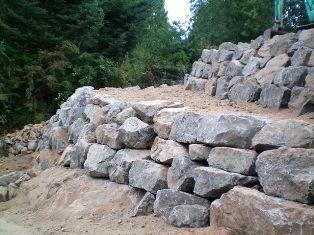 Retaining Walls Boulder Retaining Wall Rock Wall Landscape Retaining Wall