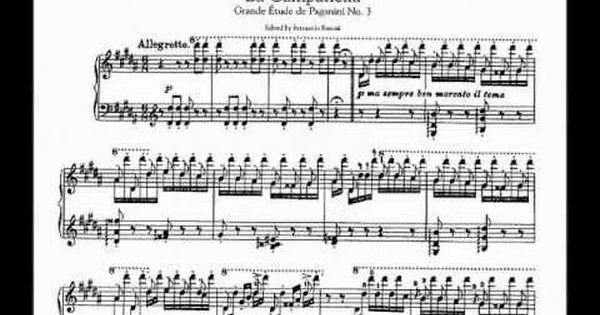 Franz Liszt La Campanella Konstantinos Papadakis Piano The Short Liszt Liszt Piano Piano Music