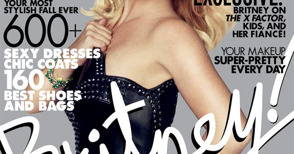 Britney Spears - Elle Magazine Cover [United States] (October 2012)