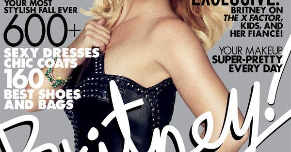 Britney Spears - Elle Magazine Cover [United States] (October 2012)