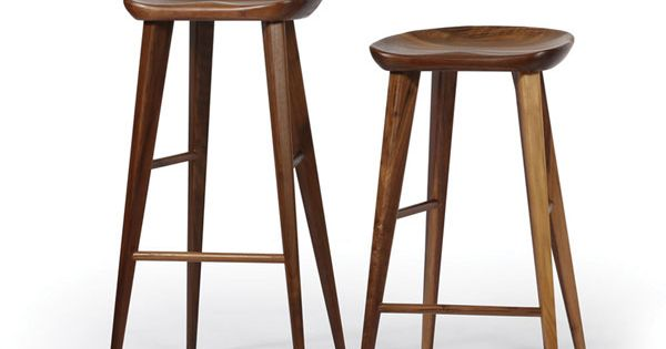 Walnut Bar Stool These mid century modern bar stools in  : d992a784275413233161e81e22a77bb2 from www.pinterest.com size 600 x 315 jpeg 20kB
