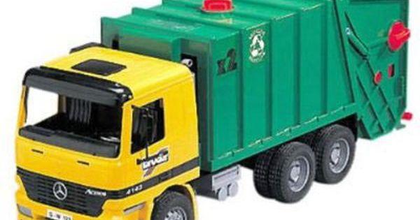Image Result For Bruder Trucks Garbage Truck Cool Toys For Boys Trucks