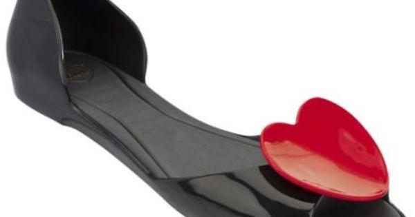 Mel By Melissa Kolekcja Wiosna Lato 2014 Czarne Baleriny Z Serduszkiem Polkipl Moda Fashion Buty Shoes Shoes Spring Summer Shoes Fashion Shoes