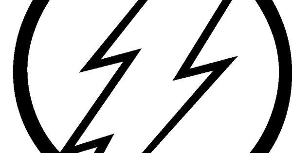 flash symbols coloring pages - photo#12