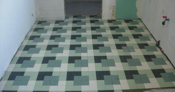 Winckelmanspatroon hedendaags dambord winckelmans for 1930s tile floor