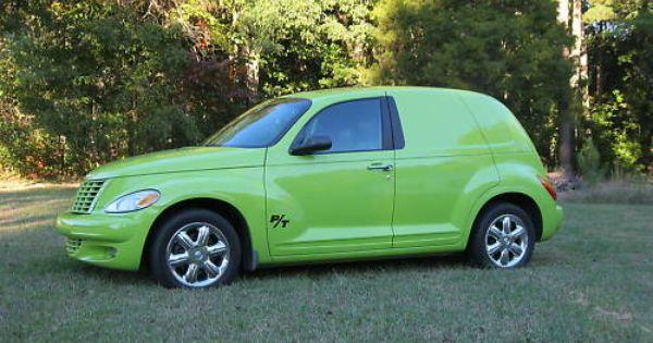 Pt Cruiser Panel Van Body Kit With Images Chrysler Pt Cruiser