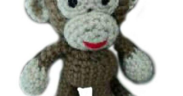 Ravelry: Little Bigfoot Monkey Free Crochet Pattern ...