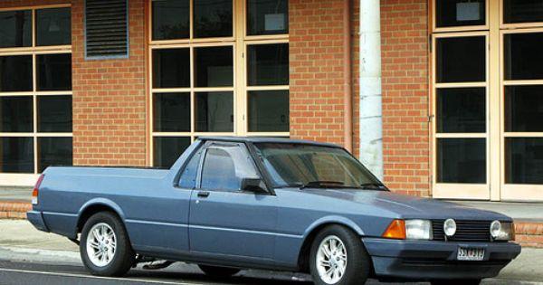 Xd Falcon Utility Australian Muscle Cars Ford Granada