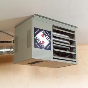 How To Heat A Garage Garage Decor Garage Work Bench Garage Heater