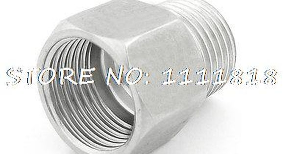 "Elbow Connector DN8 1//4/"" Male x 6MM OD Compression Double Ferrule Pipe Fitting"