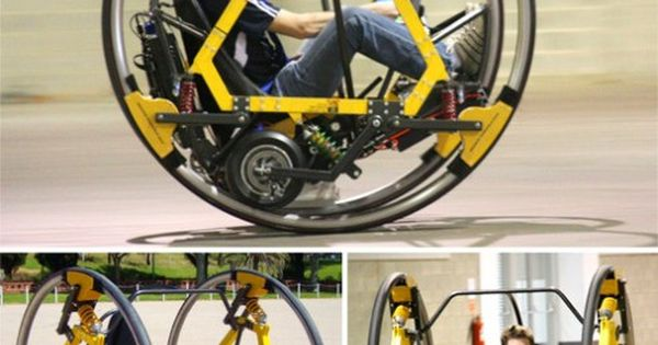Electric Diwheel (Cool. But doesn't it look a little like the vehicle