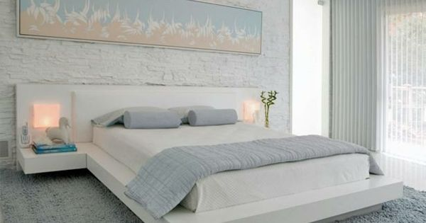 hellblau schlafzimmer natursteinwand wei e farbe bild home pinterest hellblaue. Black Bedroom Furniture Sets. Home Design Ideas