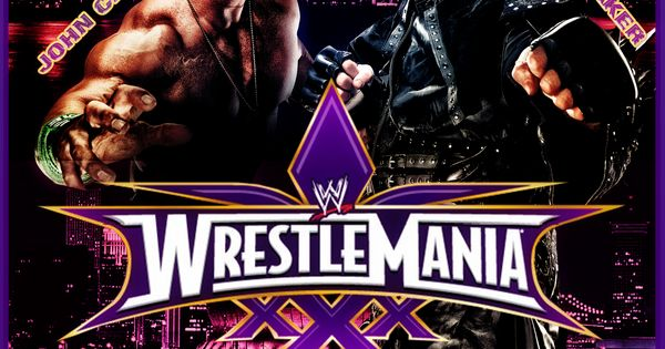 WWE - WRESTLEMANIA 30 custom poster by TheIronSkull ...
